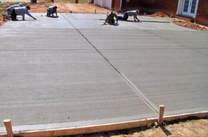 [Image: We install patios, driveways, sidewalks, and parking lots. Call today for free estimates!]