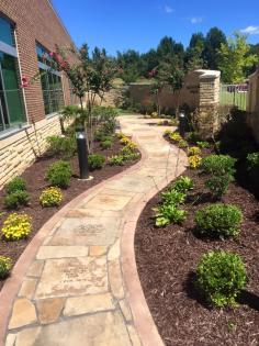 We provide services for trees, grass, sprinklers, concrete, landscaping, stone work, and more!